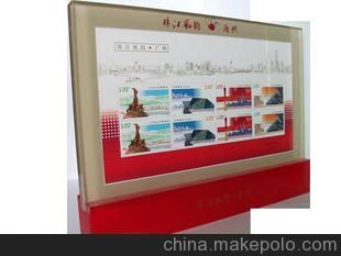 广州特色礼品——珠江风韵邮票摆件