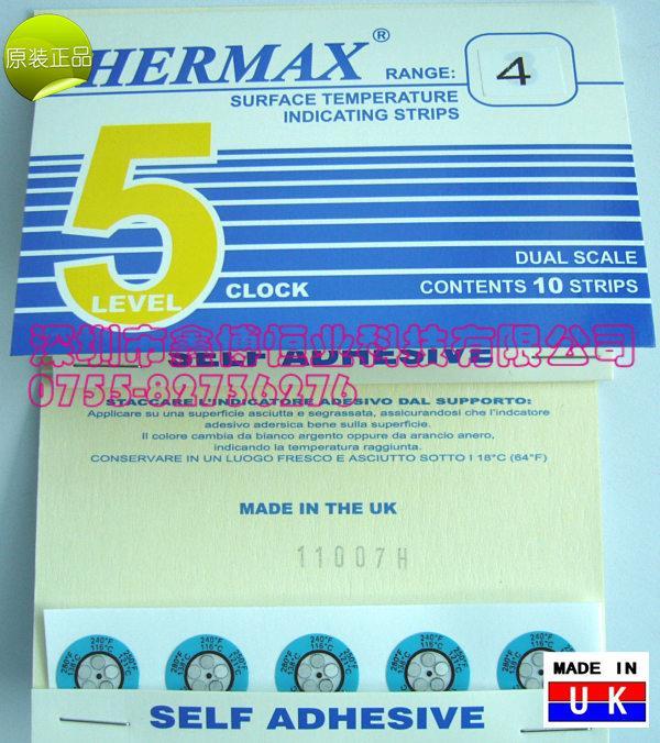 THERMAX测温试纸|可逆THERMAX测温试纸