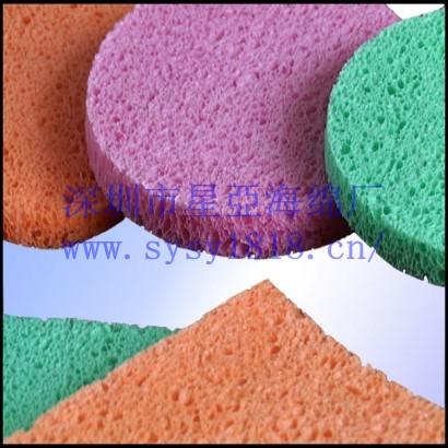 供应彩色木浆棉,米老鼠形状木浆棉