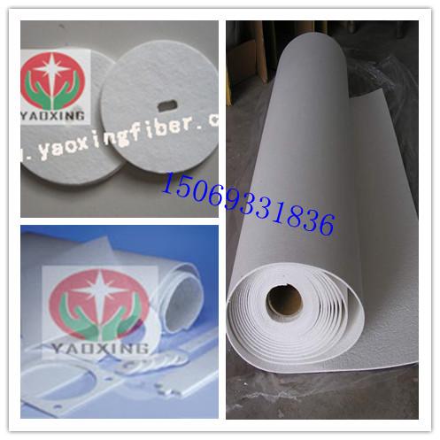 陶瓷纤维纸硅酸铝含锆纸隔热密封绝缘纸消声器隔热纸