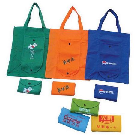 供应九江折叠式购物带、草莓式可爱环保袋