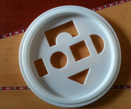 雄县透明塑料盖,纸桶塑料盖,纸桶盖加工