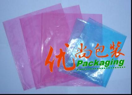 上海pe塑料包装袋,粉色静电薄膜袋