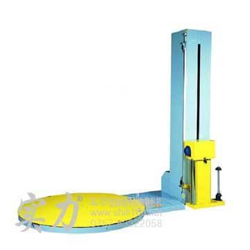 专业供应杨梅实力牌全自动预拉伸裹膜机 全自动预拉伸薄膜缠绕机