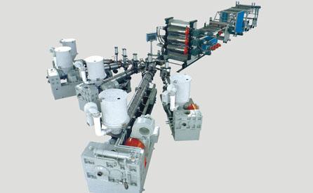 PP/PE/ABS/PC/PVC片材挤出机 片板材生产线