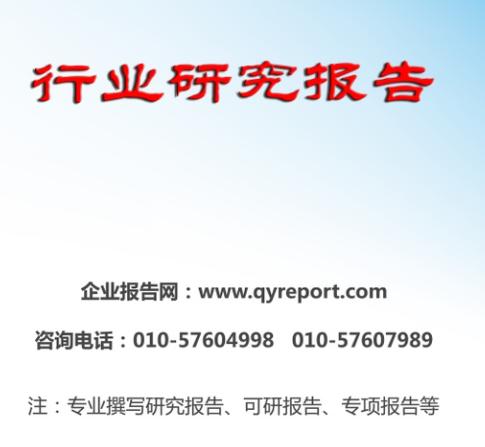 照排机市场调查及发展前景预测报告