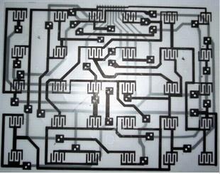 供应导电银浆/碳浆PET薄膜线路板