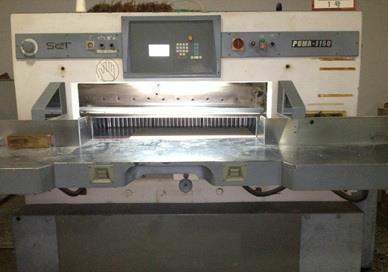 维修 波拉Polar切纸机 电路 油泵 电路板 液压系统 电脑 升级 显