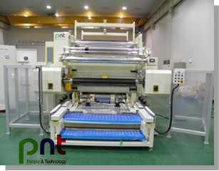 韩国pnt人科机械最新光学膜设备横切机