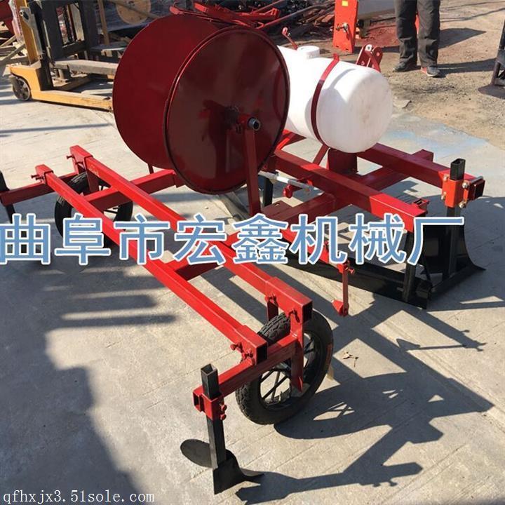 播种施肥覆膜机 播种施肥覆膜机  施肥起拢覆膜机