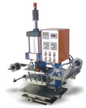 皮革烫金机,皮革商标烫金机