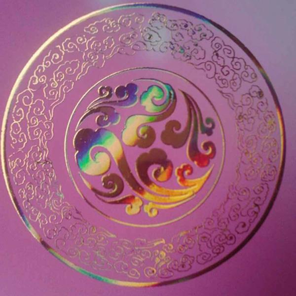UV光固化玻璃烫金油墨代替烫金机