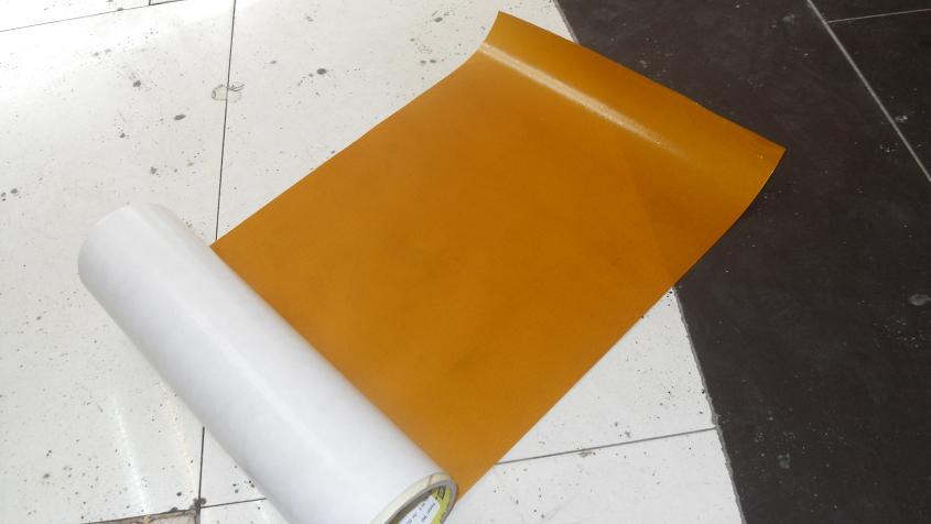 黄色烫金高温胶纸  烫金机专用