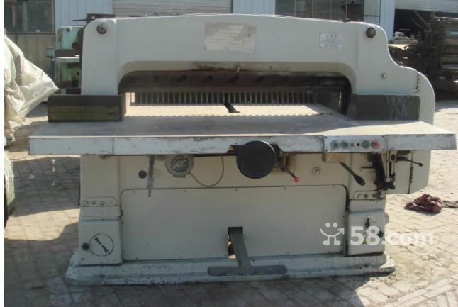 北京回收各种印刷机设备《北京切纸机回收》收购折页机