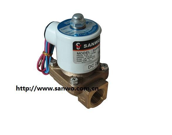 SANWO三和电磁阀 2通阀 先导电磁阀折页机电磁阀