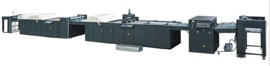 供应HZSG系列自动喷码上光机