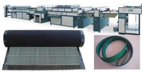 UV上光机皮带 网带 铁氟龙网带 耐高温网带