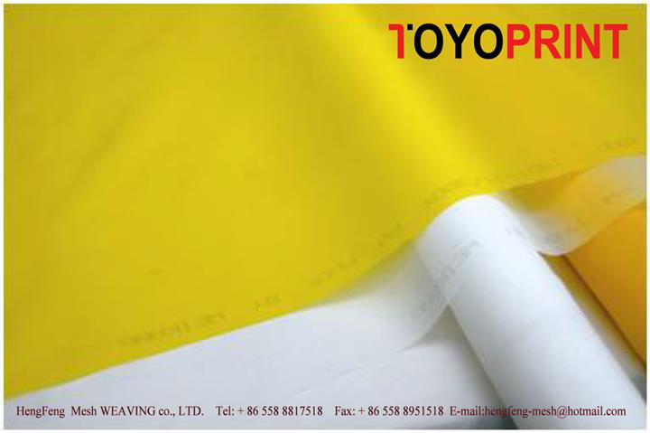 TOYOPRINT优质120T白色300目34线 HT 高张力印刷网纱 丝印网纱