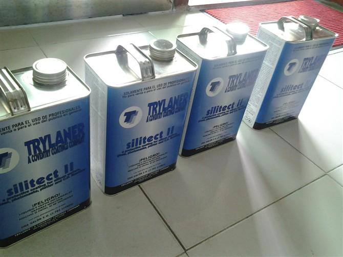 美国进口TRYLANER , SILITECT II, 红色快干保护胶,电子粘尘胶