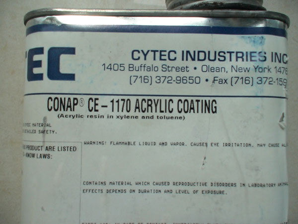 美国氰特线路板防水防潮绝缘保护胶CE-1170
