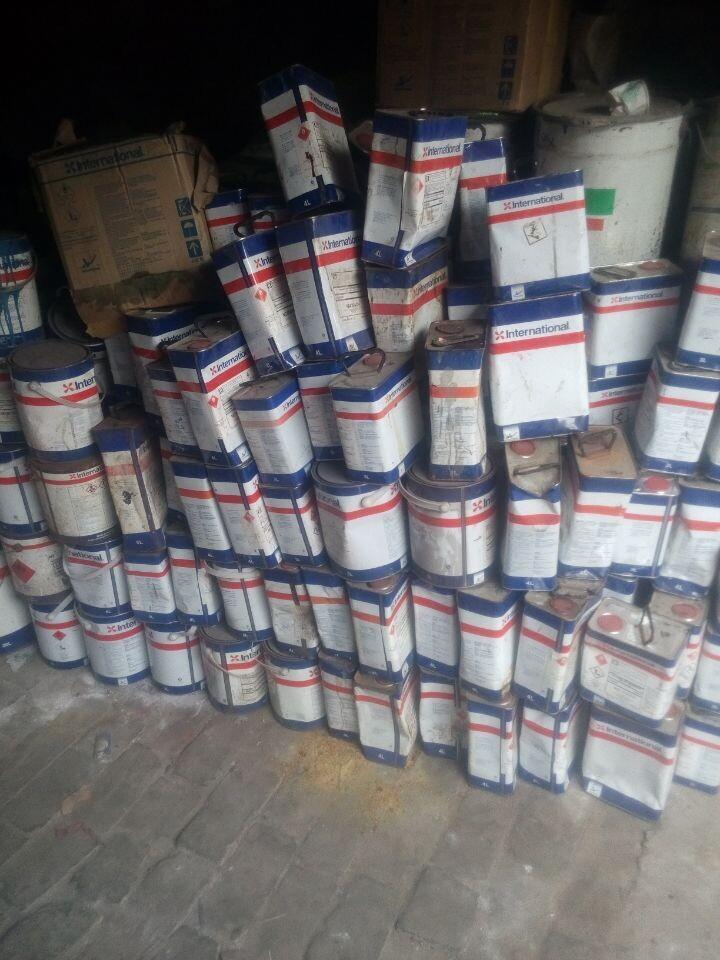 回收溶剂  有资质 13373508837董
