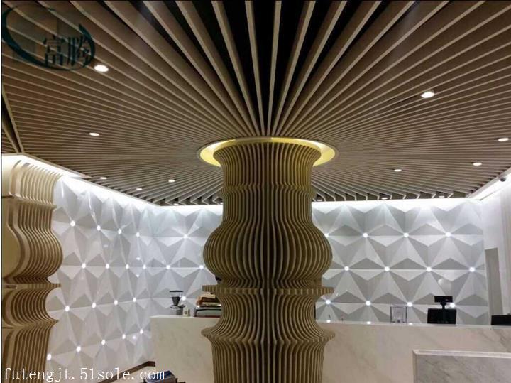 九江市经济技术开发区热转印木纹方通厂家