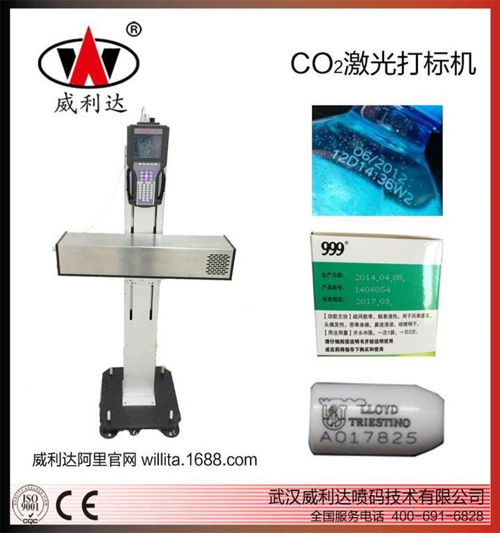 医药盒药品包装二氧化碳喷码机,武汉威利达品质保证