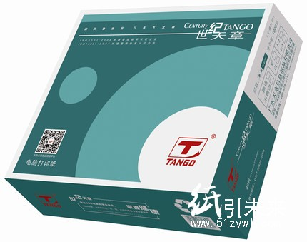 世纪天章电脑针式电打纸 241-3 三联一、二、三等分