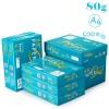 绿百旺(PAPERONE)复印纸 80克 A4 500P 5包/箱 整箱销售 绿色包装
