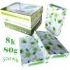 绿叶(GreenLeaf)复印纸 8K 80g 500p 绿白包装 5包箱 5包箱