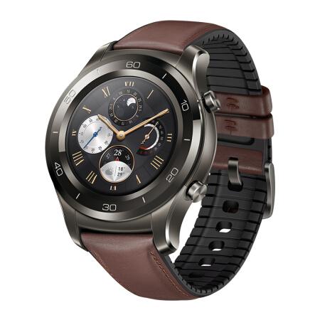 华为HUAWEI WATCH 2 Pro华为新款智能手表 独立通话(eSIM技术) GPS心率 FIRSTBEAT运动指导 NFC支付 钛银灰