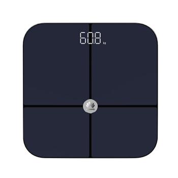 华为(HUAWEI) 华为 荣耀智能体脂称蓝牙脂肪秤男女通用电子秤APP数据测量家用健康体重秤 华为体脂称(黑色)
