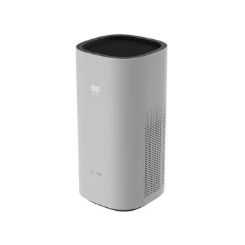 华为智选空气净化器家用卧室办公静音智能家居除甲醛雾霾粉尘PM2.5 白色+深灰色